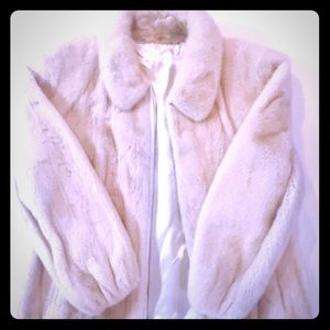 Other - White Mink Jacket